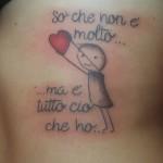 scritta tattoo